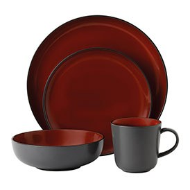 Gordon Ramsay Bread Street Dark Red 16 Piece Set