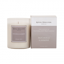 Royal Doulton Patchouli & Jasmine Soy Wax Candle