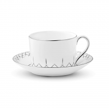 Waterford Lismore Pops Tableware Teacup and Saucer
