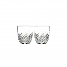 Waterford Crystal Essentially Waterford Wave DOF Tumbler Pair