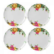 Royal Albert Outdoor Living Old Country Roses Plate 25cm Set 4