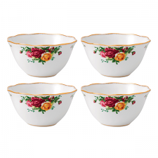 Royal Albert Old Country Roses Set of 4 Bowls 11cm