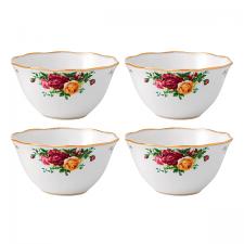 Royal Albert Old Country Roses Set of 4 Bowls 11cm