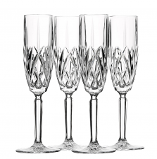 Marquis by Waterford Brookside Flute Set of 4