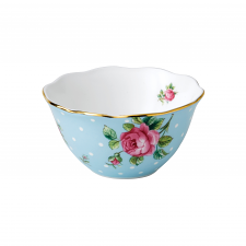 Royal Albert Tea Party Polka Blue Bowl 10cm