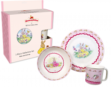 Royal Doulton Bunnykins Melamine 3 Piece Set (Heart)