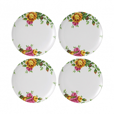 Royal Albert Outdoor Living Old Country Roses Plate 20cm Set 4
