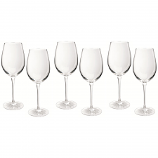 Waterford Crystal Clear Light Wine Set of 6