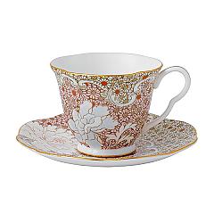 Wedgwood Daisy Pink Teacup & Saucer