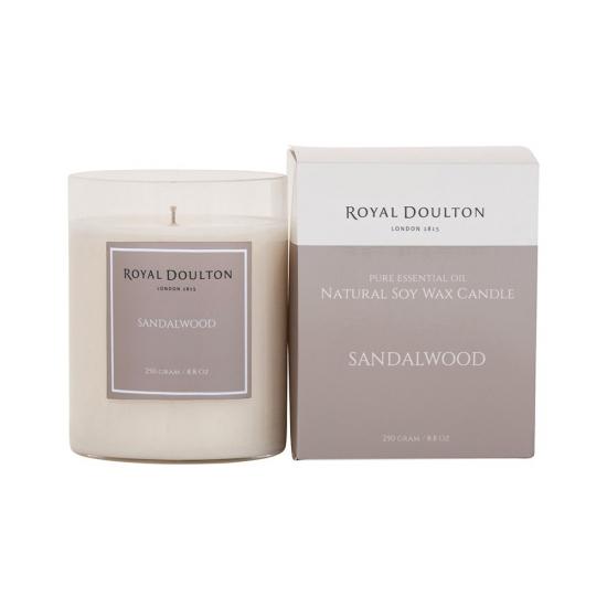 Royal Doulton Sandalwood Soy Wax Candle