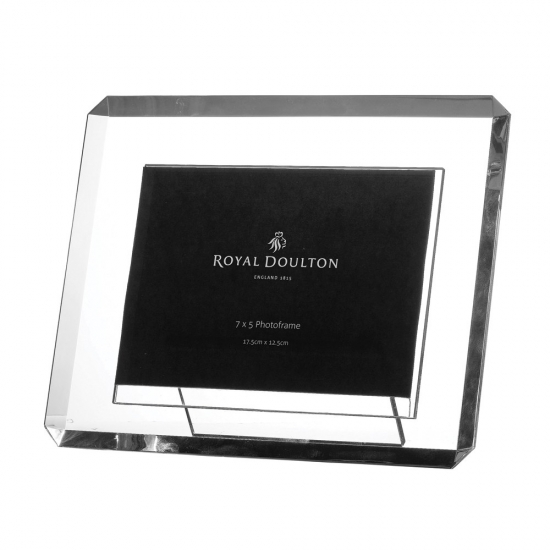 Royal Doulton Radiance Giftware Bevelled Frame 5 X 7 Royal