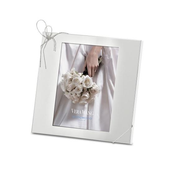 Vera Wang Wedgwood Love Knots Silver Giftware Frame 5\