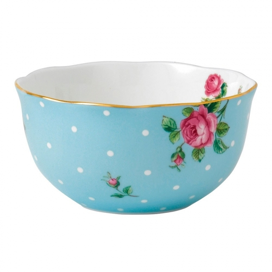 Royal Albert Polka Blue Rice Bowl 11cm