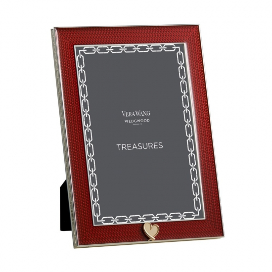 Wedgwood Vera Wang With Love Frame Red 4'x6'