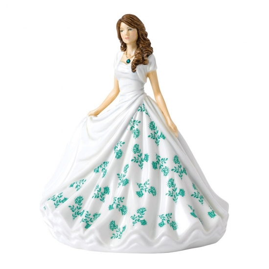 Royal Doulton Birthstone Petites May - Emerald HN 5901