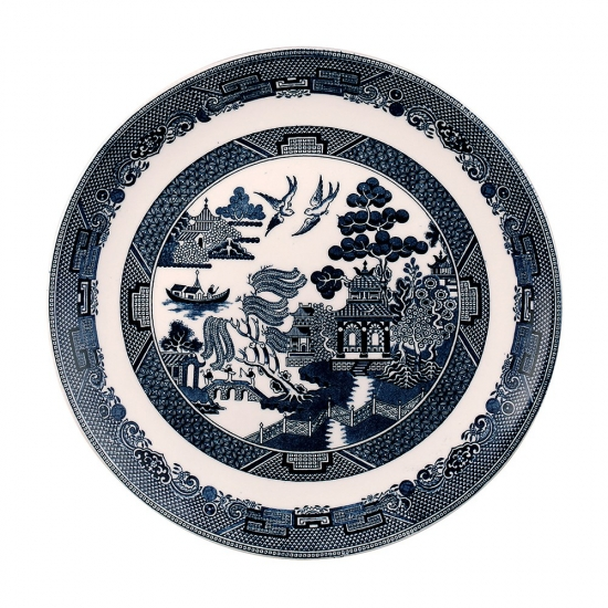 Johnson Brothers Blue Willow Plate 27cm