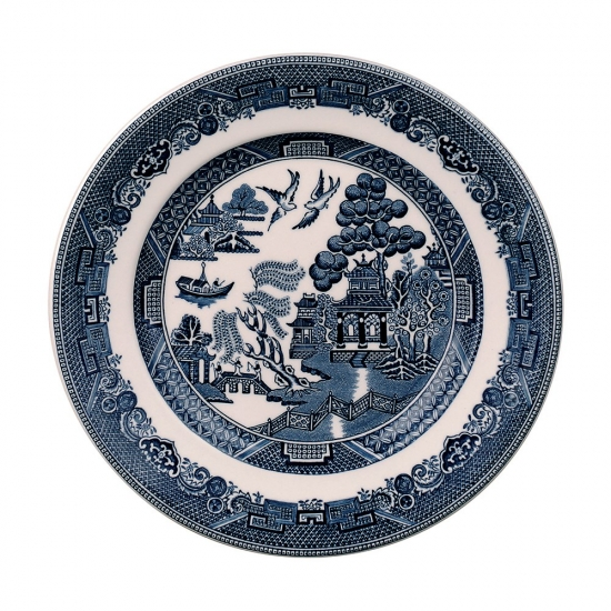 Johnson Brothers Blue Willow Plate 16cm