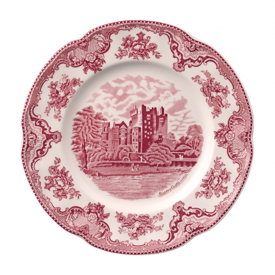 Johnson Brothers Old British Castles Pink Plate 25cm