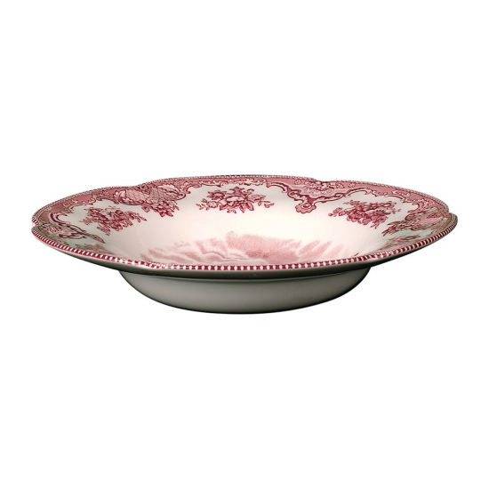 Johnson Brothers Old British Castles Pink Soup Plate 21cm