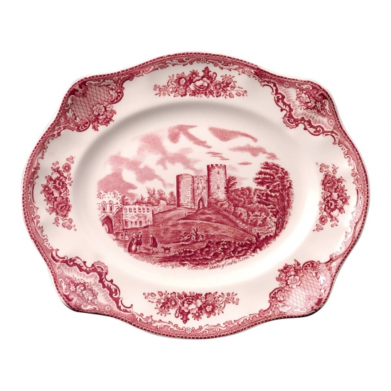 Johnson Brothers Old British Castles Pink Platter 30cm