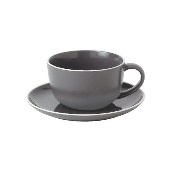 Gordon Ramsay Bread Street Slate Breakfast Cup and Saucer 350ml