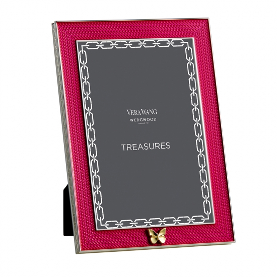 Wedgwood Vera Wang With Love Frame Pink 4'x6'