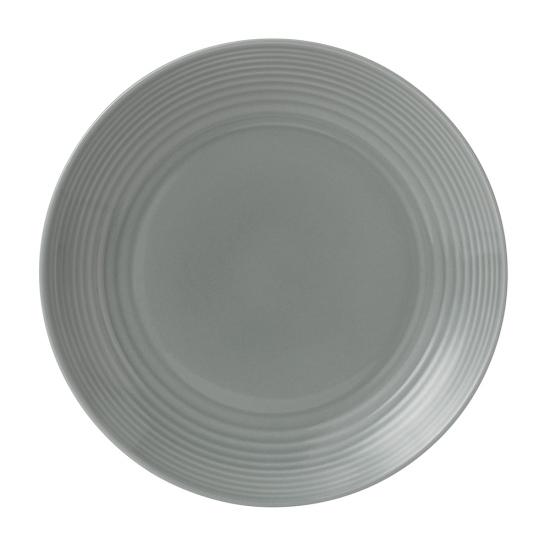 Gordon Ramsay Maze Dark Grey Plate 28cm