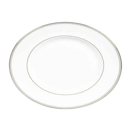 Vera Wang Wedgwood Grosgrain Oval Dish 39cm