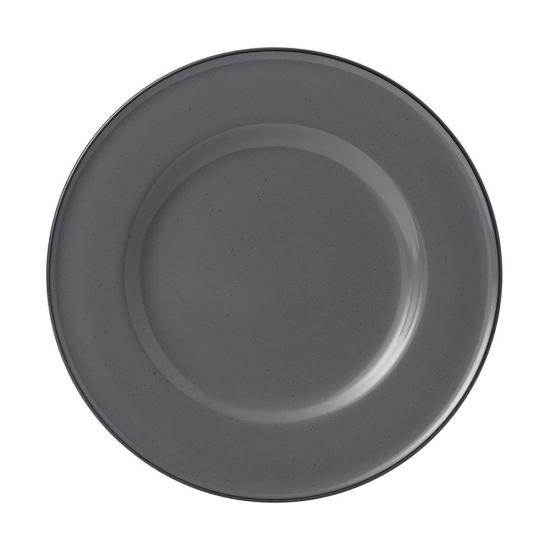 Gordon Ramsay Union Street Cafe Grey Plate 22cm