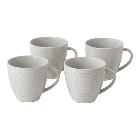 Gordon Ramsay Maze Grill White Mug 295ml Mixed (Set of 4)