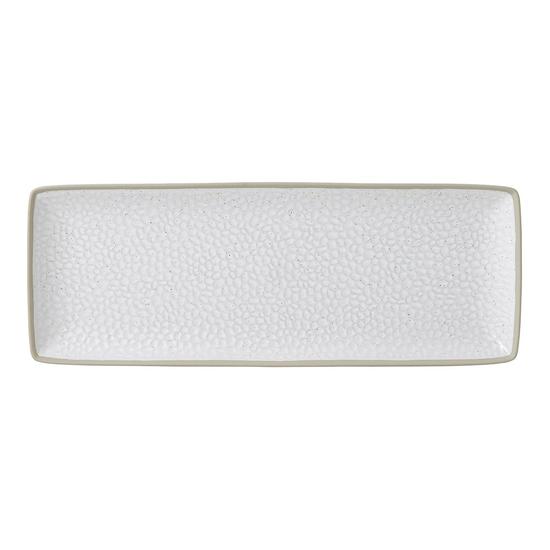 Gordon Ramsay Maze Grill White Serving Platter Hammer 40cm