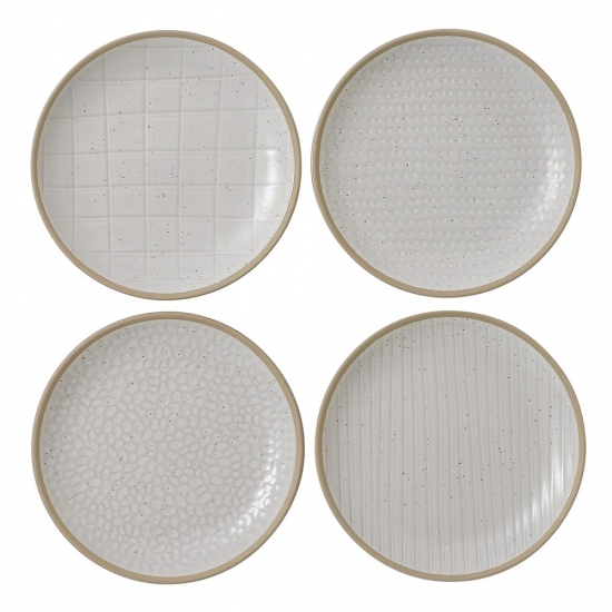 Gordon Ramsay Maze Grill White Plate 16cm Mixed (Set of 4)